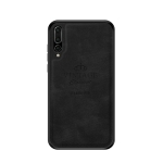 PINWUYO Shockproof Waterproof Full Coverage PC + TPU + Skin Protective Case for Huawei P20 Pro / P20 Plus (Black)
