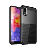 UNBREANK PC + TPU Invisible Airbag Shockproof Protective Case for Huawei P20 (Black)
