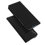 DUX DUCIS Skin Pro Series Horizontal Flip PU + TPU Leather Case for Huawei Honor 8A, with Holder & Card Slots (Black)
