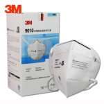 3M 50 PCS 9010 N95 Anti-particle Material Anti-PM2.5 No Breathing Valve Folding Mask