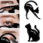 20 PCS / 10 Sets Women Cat Line Eye Makeup Tool Model