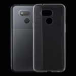0.75mm Ultrathin Transparent TPU Soft Protective Case for HTC Desire 12S