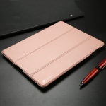 DUX DUCIS Skin Pro Series Horizontal Flip PU + PC Leather Case for iPad 2 & 3 & 4, with Three-folding Holder (Pink)