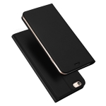 DUX DUCIS Skin Pro Series Horizontal Flip PU + TPU Leather Case for iPhone 6 Plus & 6s Plus, with Holder & Card Slots(Black)