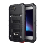 Waterproof Dustproof Shockproof Zinc Alloy + Silicone Case for iPhone 6 Plus & 6s Plus (Black)
