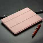 DUX DUCIS Skin Pro Series Horizontal Flip PU + PC Leather Case for iPad 9.7 inch (2018) & (2017) & Air 2 & Air, with Three-folding Holder (Pink)