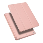 DUX DUCIS Skin Pro Series Horizontal Flip PU + PC Leather Case for iPad 9.7 inch (2018) & (2017), with Three-folding Holder & Pen Slot(Pink)