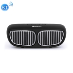 NewRixing NR-2020 Car Model Concept Design Bluetooth Speaker with Hands-free Call Function, Support TF Card & USB & FM & AUX(Black)