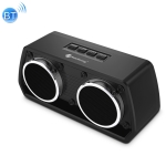 NewRixing NR-2024 Car Model Concept Design Bluetooth Speaker with Hands-free Call Function, Support TF Card & USB & FM & AUX (Black)