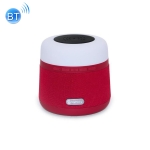 NewRixing NR-3500 Multi-function Atmosphere Light Wireless Charging Bluetooth Speaker with Hands-free Call Function, Support TF Card & USB & FM & AUX (Red)