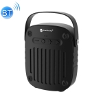 NewRixing NR-4014 Outdoor Portable Hand-held Bluetooth Speaker with Hands-free Call Function, Support TF Card & USB & FM & AUX (Black)
