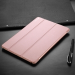 DUX DUCIS Skin Pro Series Horizontal Flip PU + PC Leather Case for iPad Air 2019 & iPad Pro 10.5, with Three-folding Holder (Pink)