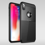 UNBREANK PC + TPU Invisible Airbag Shockproof Protective Case for iPhone XS Max (Black)
