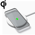 Meizu WP01 10W Round Wireless Charger for Wireless Charging Standard Devices, Length: 1m (White)