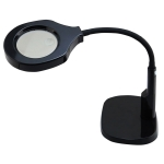 BEST Desk Magnifier Lamp LED Light Magnifying Glass