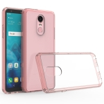 Scratchproof TPU + Acrylic Protective Case for LG Stylo 4(Pink)