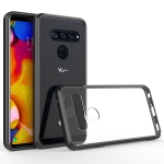 Scratchproof TPU + Acrylic Protective Case for LG V40(Black)