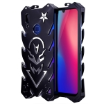 Vulcan Pattern Shockproof Protective Case for Vivo Y95(Black)