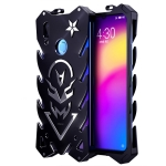 Vulcan Pattern Shockproof Protective Case for Meizu Note 9 (Black)