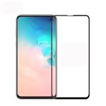 PINWUYO 9H 2.5D Full Screen Tempered Glass Film for Galaxy S10 E (Black)