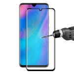 ENKAY Hat-Prince 0.26mm 9H 3D Explosion-proof Full Screen Curved Heat Bending Tempered Glass Film for Huawei P30 Pro (Black)