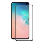 ENKAY Hat-Prince 3D Full Screen Electroplating PET Curved Heat Bending HD Screen Protector for Galaxy S10 E(Black)