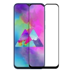 ENKAY Hat-Prince 0.26mm 9H 6D Curved Full Screen Tempered Glass Film for Galaxy M10 (Black)
