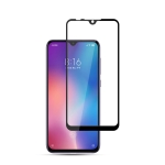 mocolo 0.33mm 9H 2.5D Full Glue Silk Print Tempered Glass Film for Xiaomi Mi 9 SE (Black)