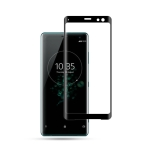 mocolo 0.33mm 9H 3D Curved Full Screen Tempered Glass Film for Sony Xperia XZ3 (Black)