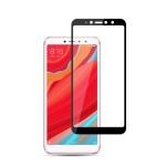 mocolo 0.33mm 9H 2.5D Silk Print Tempered Glass Film for Xiaomi Redmi S2 (Black)