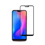 mocolo 0.33mm 9H 2.5D Silk Print Tempered Glass Film for Xiaomi Redmi Note 6 (Black)