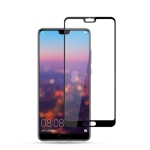 mocolo 0.33mm 9H 2.5D Silk Print Tempered Glass Film for Huawei P20 (Black)