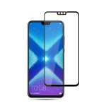mocolo 0.33mm 9H 2.5D Silk Print Tempered Glass Film for Huawei Honor 8X (Black)