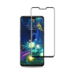 mocolo 0.33mm 9H 3D Curved Full Screen Tempered Glass Film for LG V50 ThinQ 5G (Black)