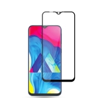 mocolo 0.33mm 9H 2.5D Full Glue Silk Print Tempered Glass Film for Galaxy M10 (Black)