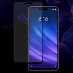 IMAK 9H Full Screen Tempered Glass Film Pro Version for Xiaomi Mi 8 Lite (Black)