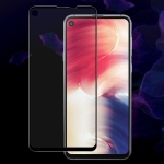 IMAK 9H Full Screen Tempered Glass Film Pro Version for Galaxy A8s (Black)