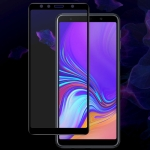 IMAK 9H Full Screen Tempered Glass Film Pro Version for Galaxy A7 2018 (Black)