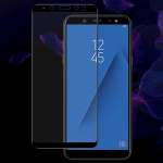 IMAK 9H Full Screen Tempered Glass Film Pro Version for Galaxy A6 2018 (Black)