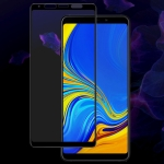 IMAK 9H Full Screen Tempered Glass Film Pro Version for Galaxy A9 2018 / A9s (Black)