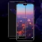 IMAK 9H Full Screen Tempered Glass Film Pro Version for Huawei P20 (Black)