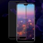 IMAK 9H Full Screen Tempered Glass Film Pro Version for Huawei P20 Pro (Black)