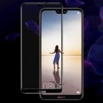 IMAK 9H Full Screen Tempered Glass Film Pro Version for Huawei P20 Lite / nova 3e (Black)