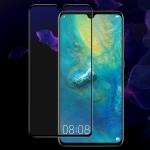 IMAK 9H Full Screen Tempered Glass Film Pro Version for Huawei Mate 20 (Black)