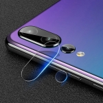 mocolo 0.15mm 9H 2.5D Round Edge Rear Camera Lens Tempered Glass Film for Huawei P20 Pro(Black)
