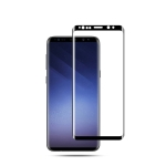 mocolo Full Glue 0.33mm 9H 3D Round Edge Tempered Glass Film for Galaxy S9+ (Black)