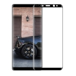 mocolo Full Glue 0.33mm 9H 3D Round Edge Tempered Glass Film for Galaxy Note8 (Black)