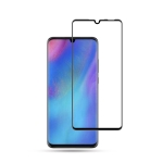 mocolo 0.33mm 9H 3D Round Edge Tempered Glass Film for Huawei P30 Lite(Black)