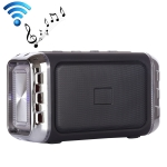 LN-22 DC 5V Portable Wireless Speaker with Hands-free Calling & Dual Colorful LED Light, Support USB & TF Card & 3.5mm Aux