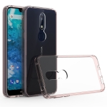 Scratchproof TPU + Acrylic Protective Case for Nokia 7.1 (Pink)